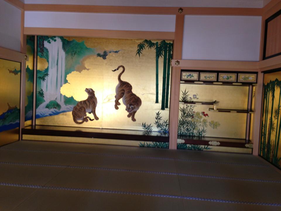 本丸御殿の襖絵_20130711
