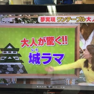 4/27(水)KBCテレビ「サワダデース」に城ラマ出現!