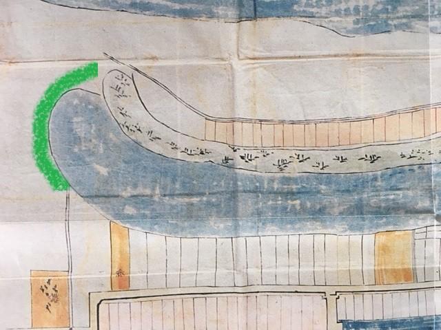 明石城絵図軍港2加工