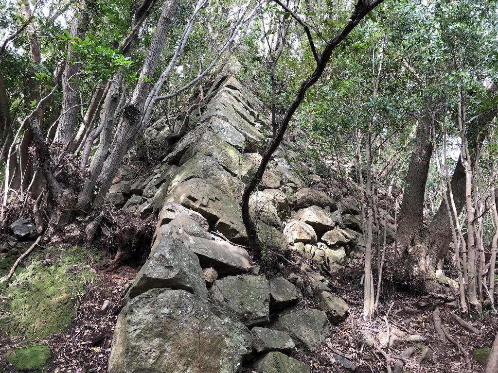 洲本城石垣1