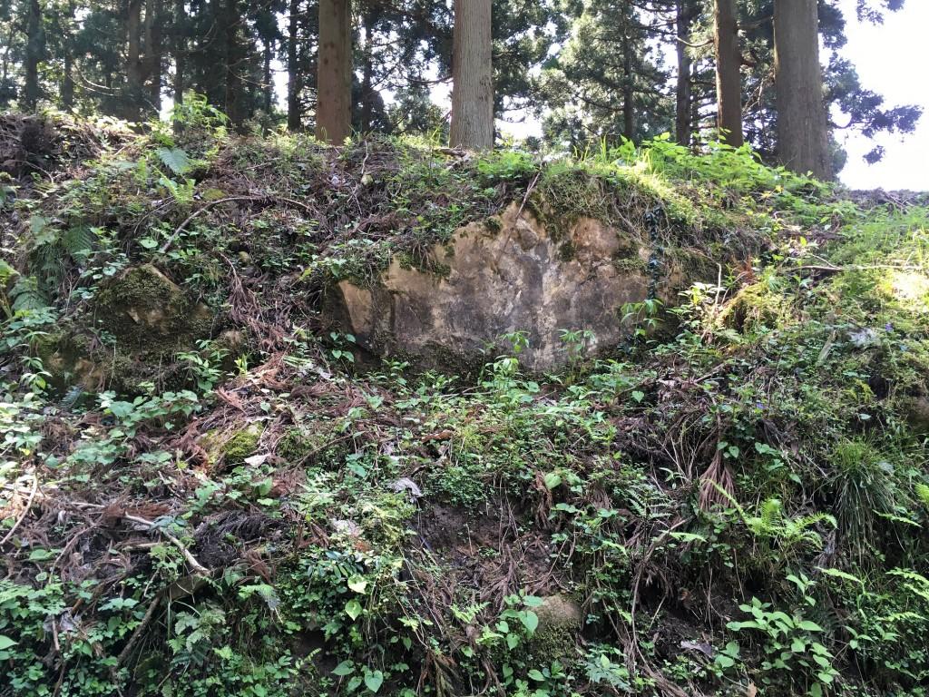 増山城石垣