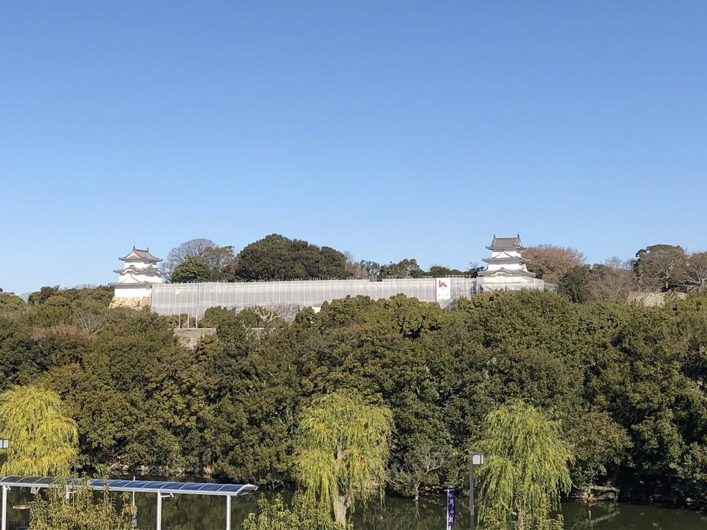 明石城修復中2