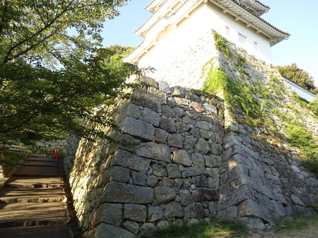 明石城南側通路5(坤櫓を望む)