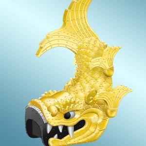 江戸城の鯱の再現!