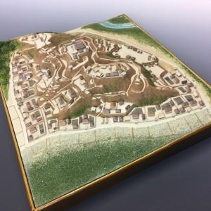 年末年始の営業のお知らせと、小机城の作り方ムービーその3